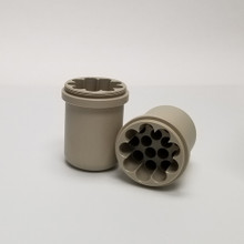 5/7mL Insert for the Z250-A250 4 x 250mL Capacity Swing-Out Rotor Z366-250-A57 for Hermle Universal Centrifuges. Comes in packs of two - Total Capacity is 56 x 5/7mL tubes