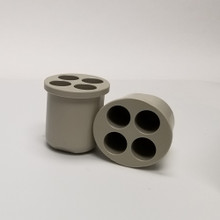 50mL Conical Tube Inserts for Hermle BS-Z366-250-HC High-Capacity Swing-Out Centrifuge Rotor Z366-250-B50 for Hermle Universal Centrifuges. Comes in packs of two - Total Capacity is 16 x 50mL tubes