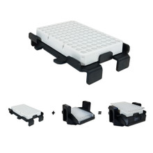 Hermle Z446-MP-STK PCR Plate Stacking Adapter for Hermle Z446-750-MP Centrifuge Microplate Carriers  - Lab Equipment - Stellar Scientific
