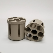 50mL Conical Tube Insert for Hermle Z446 High-Speed Centrifuge Z446-750-A50 - each Carrier holds seven 50mL Tubes for a Total Capacity of 28 x 50mL