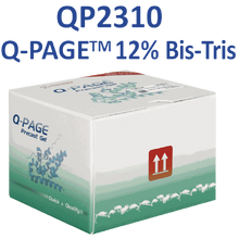 SMOBio Q-Page 12 percent 12 Well Mini Bis-Tris Pre-Cast Gels for Western Blots QP2310 - Electrophoresis Supplies - Stellar Scientific