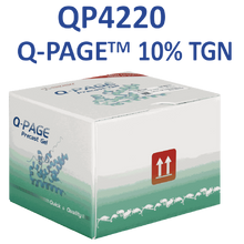 SMOBio Q-Page 10 percent 15 Well Mini Tris-Glycine Pre-Cast Gels for Western Blots QP4220 - Electrophoresis Supplies - Stellar Scientific