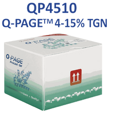 SMOBio Q-Page 4-15 percent gradient 12 Well Mini Tris-Glyciine Pre-Cast Gels for Western Blots QP4510 - Electrophoresis Supplies - Stellar Scientific