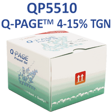 SMOBio QPAGE™ 4-15% Gradient 12 Well Tris-Glycine Midi Precast Gel, 10 Gels/PK
