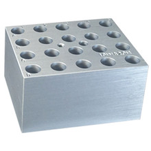 Benchmark Scientific Aluminum Dry Bath Block BSW10 for 10mm Tubes - Lab Equipment - Stellar Scientific