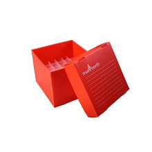 Heathrow Scientific HS120292  Polypropylene Freezer Boxes for 15mL Conical Tubes oxes come folded flat and include plastic dividers. They are quickly assembled.  - Lab Supplies - Stellar Scientific