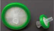 Syringe filter - PES 30mm diameter, .45um, PP housing, sterile, 45/Pk