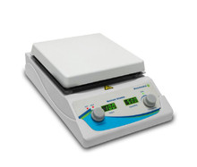 Benchmark Scientific H3770-HS Digital Hotplate Magnetic Stirrer With 7 Inch White Ceramic Surface and 380C Top Temperature and 5 Liter Stir Capacity - Lab Equipment - Stellar Scientific