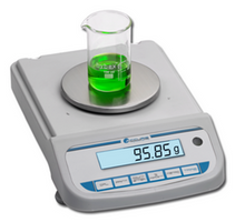 1200 gram Accuris Compact Laboratory Balance with 0.1 Readability 6.3 inch weighing Pan and Bright Lit LCD Screen