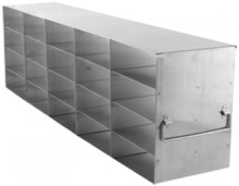 UF-542 stainless steel metal freezer rack for freezer boxes.