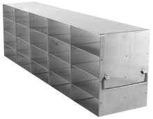 Freezer Rack UF-452 for twenty freezer boxes - Image for illustration purposes only