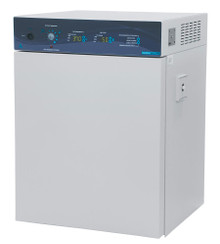 Shel Lab SCO6AD High Heat Decontamination CO2 Incubator for Tissue and Cell Culture. Easy to program microprocessor. Shown with door closed.