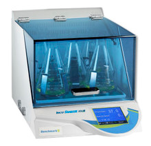 Benchmark Scientific H2012 Refrigerated Shaking Incubator for Bacterial Cultures with Optional Magnetic Magic Clamp System and Touch Screen Control Panel - Lab Equipment - Stellar Scientific