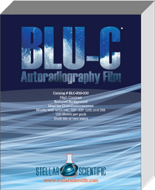 Blu-C Autoradiography Film 5x7, 100 Sheets per box