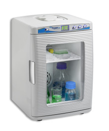 Benchmark Scientific H2200-HC MyTemp Mini Benchtop Incubator with digital controls, shelf and internal power port for small lab rockers