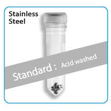Prefilled 2.0ml Tubes - Stainless Steel (Acid-Washed) Homogenizer Beads, Ø:2.8mm, 50/PK