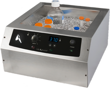 14L Lab Armor Bead Bath Dry Bath with 12L of Aluminum Milled Beads Included. This Precise Temperature Controlled Dry Bath Eliminates Water Borne Contamination Found in Laboratory Water Baths