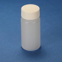 20mL Scintillation Vial,  HDPE, with Separate White Screw Cap, 1000/CS