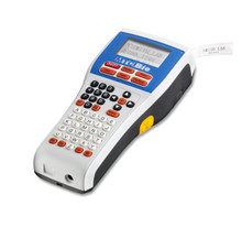 Rechargeable Hand Held Laboratory Labeler that can print Bar Codes and Up to Six Lines of Text