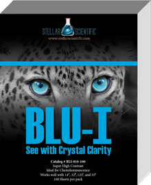 Blu-I Autoradiography Film 8x10, 100 Sheets per box