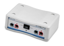 Benchmark Scientific E2100 myVolt Mini electrophoresis power supply can run two gels at the same time.