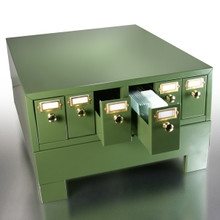 Stackable Microscope Slide Storage Cabinet with Six Drawers for a total capacity of 4500 Slides  - Base is not included!