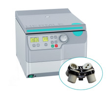 Hermle Z306 High-Speed Non-Refrigerated Centrifuge Cell-Culture Bundle with Swing-Out Rotor and Buckets for 6 x 15mL and 4 x 50mL tubes