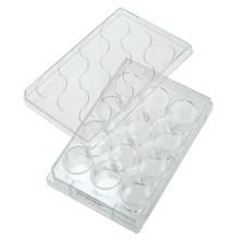 12-well cell culture non-treated plates, flat-bottom, sterile, 50/CS
