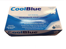 Cool Blue™ Nitrile gloves, Powder Free, Mixed Case - Please contact first!  (2000/CS)