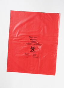 Biohazard Disposal Bags 8x12 inch, 1.57mil thick, 500/CS
