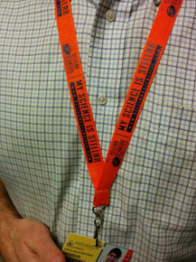 Stellar Scientific lanyard for keys and ID badges
