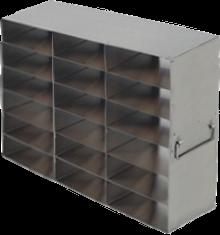 Laboratory Freezer Rack UFHT-36 for 18 Plastic Freezer Boxes
