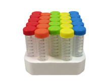MTCBio C2750 Spectratube 50mL Conical Tubes - Stellar Scientific iTubes Brand of Colored Cap Tubes