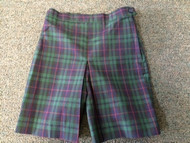 Girls Skort Plaid (K - 5)
