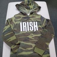 Youth Hooded Camo Sweatshirt