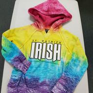 Youth Burnout V-Notch Hooded Sweatshirt