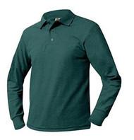 Long Sleeve Youth Polo Shirt (Pique)
