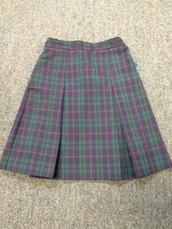 Skirt Plaid or Navy (K-8)