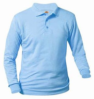 Unisex Long Sleeve Polo Jersey