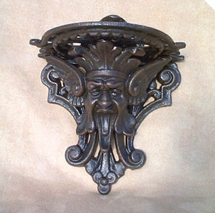 Gargoyle shelf - front