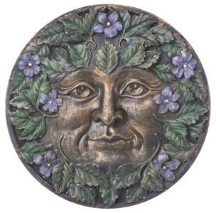 Spring Green Man plaque