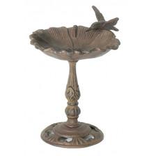 Poppy Flower table top birdbath