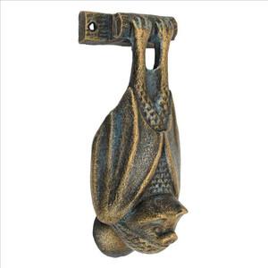Cast iron bat door knocker