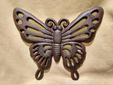 Filigree Butterfly Plaque