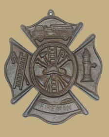 Fireman plaque front