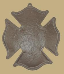Fireman plaque back