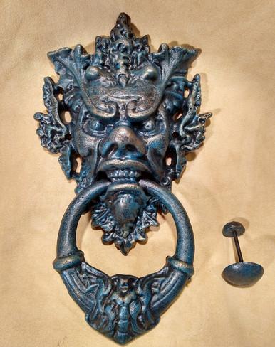 Gargoyle doorknocker