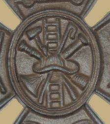 Fire fighter plaque detail