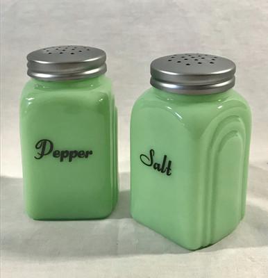 Jadeite shakers