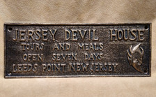 Jersey Devil plaque